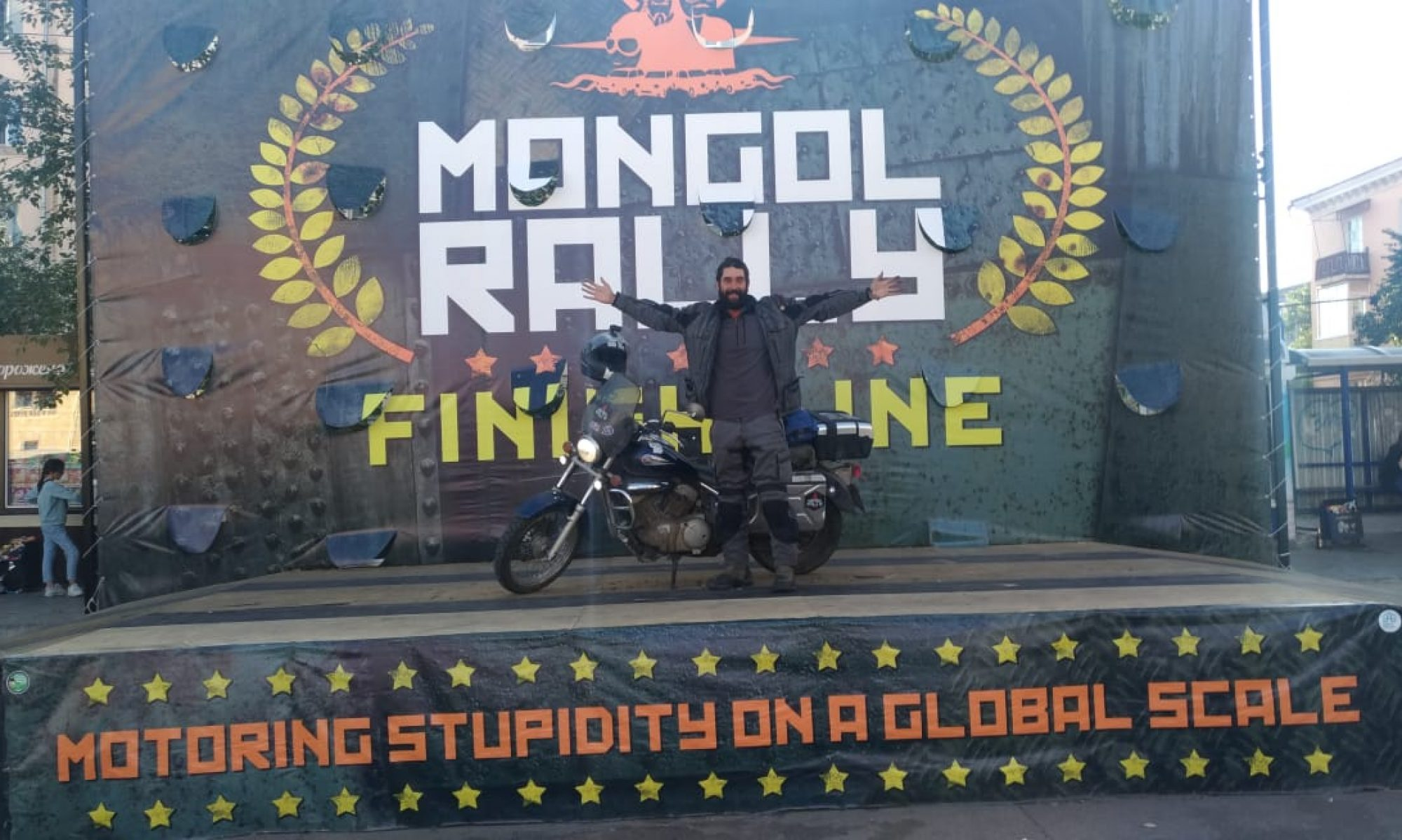 Mongol Rally 2018